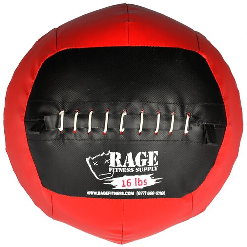 Muscle Driver USA 16 lb Rage Ball in Red