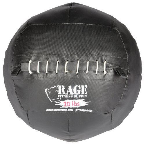 Muscle Driver USA 20 lb Rage Ball in Black