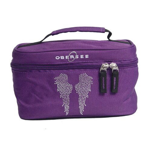 Obersee Kids Angel Wings Toiletry and Accessory Train Case