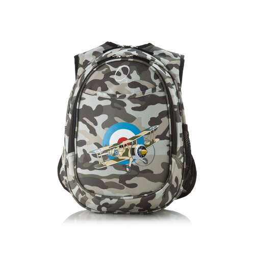 Obersee Kids All in One Pre-School Camo Airplane Cooler Backpack