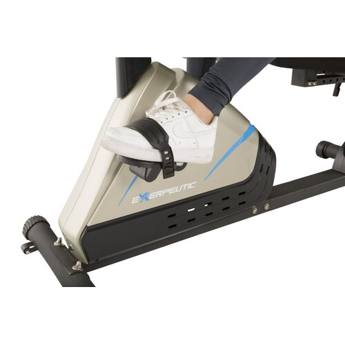 Exerpeutic Fitness 2000 High Capacity Programmable Magnetic Recumbent Bike