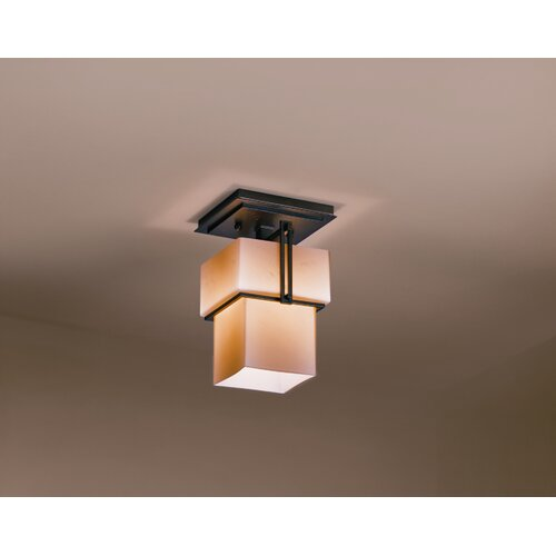 Hubbardton Forge Kakomi 1 Light Semi Flush Mount
