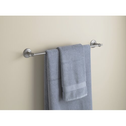 "Hubbardton Forge Rook 26.5"" Wall Mounted Towel Bar"