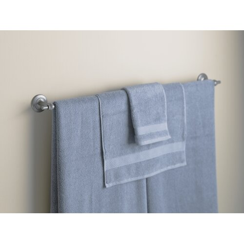 "Hubbardton Forge Rook 34.5"" Wall Mounted Towel Bar"