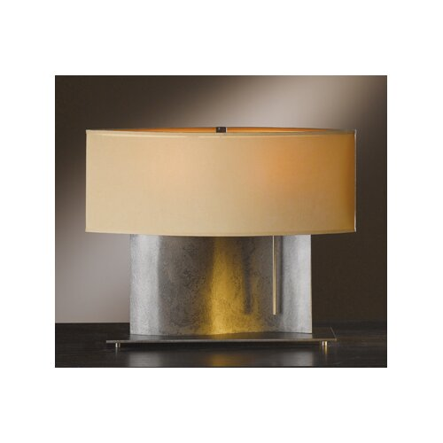 "Hubbardton Forge Current 15.2"" H Table Lamp with Drum Shade"