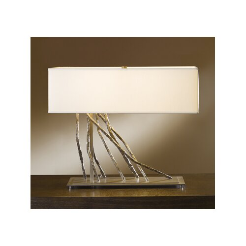 """Hubbardton Forge Lamp Shades: Hubbardton Forge Brindille 16.5"""" H Table Lamp With"""