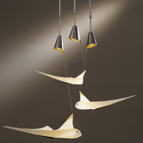 Hubbardton Forge Icarus 3 Light Pendant