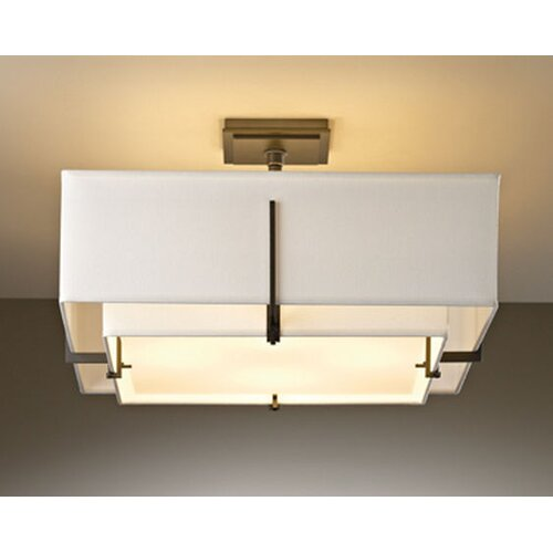 Hubbardton Forge Exos 4 Light Semi-Flush Mount