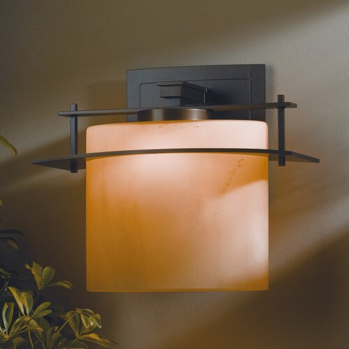 Hubbardton Forge Ellipse 1 Light Outdoor Wall Sconce