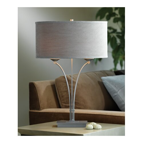 """Hubbardton Forge Formae 25.6"""" H Table Lamp with Drum Shade"""