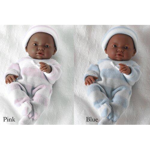 JC Toys Mini La Newborn - African American