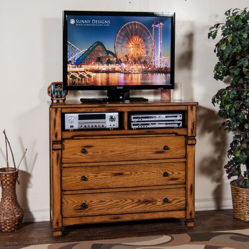 Sedona 3 Drawer Media Chest