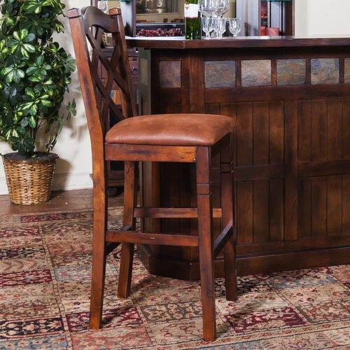 "Sunny Designs Santa Fe 30"" Barstool with Cushion"