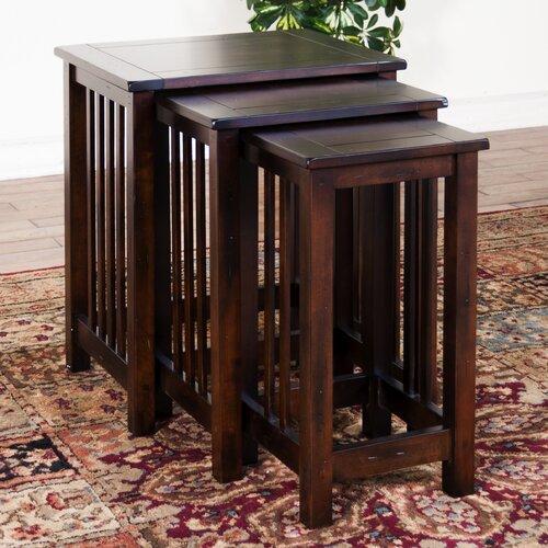 Santa Fe 3 Piece Nesting Tables