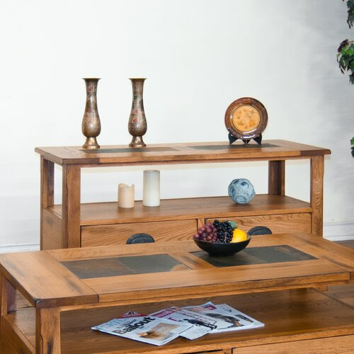 Sedona Console Table with Lower Drawers