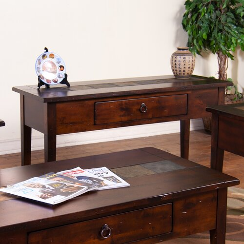 Santa Fe One Drawer Console Table