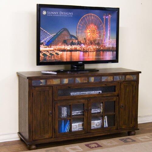 """Sunny Designs Sante Fe 62"""" TV Stand"""