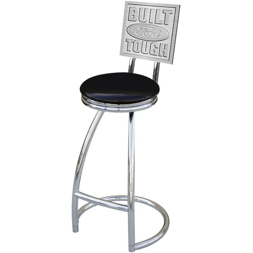 "On The Edge Marketing Ford 30"" Swivel Bar Stool"
