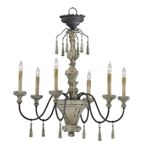 Cyan Design Provence 6 Light Chandelier