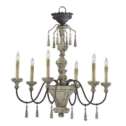 Cyan Design Provence 6 Light Chandelier