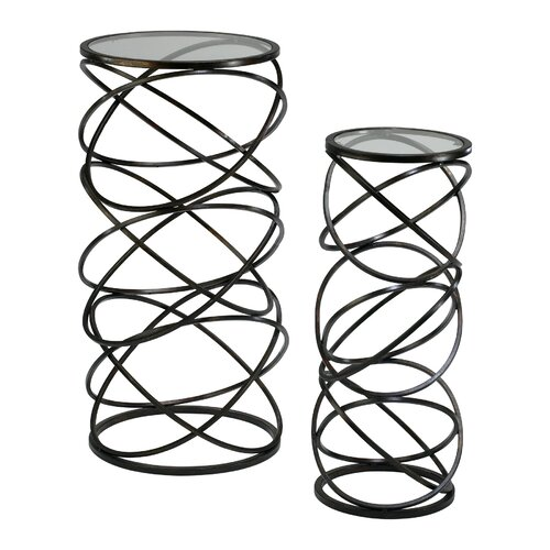 Cyan Design Spiral End Table (Set of 2)