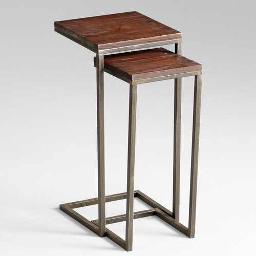 Cyan Design Kirby Tables in Walnut and Graphite