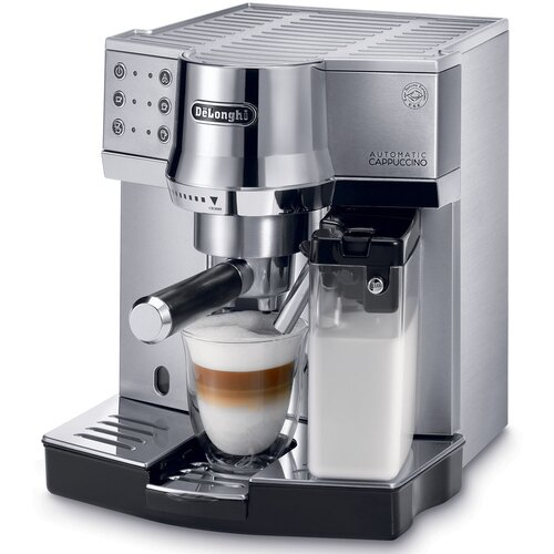 15-Bar Pump Espresso Maker with Automatic Cappuccino System