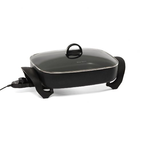 Extra-Deep Oblong Skillet with Lid