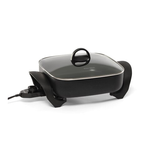 West Bend Deep Skillet with Lid