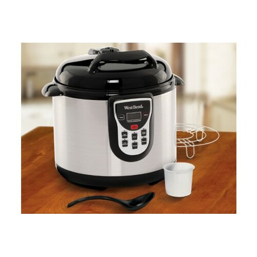 West Bend 6-Quart Electric Pressure Cooker