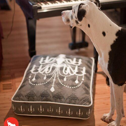 P L A Y Victorian Chandelier Rectangular Dog Pillow
