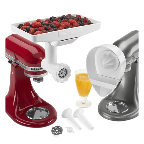 how to use kitchenaid attachments