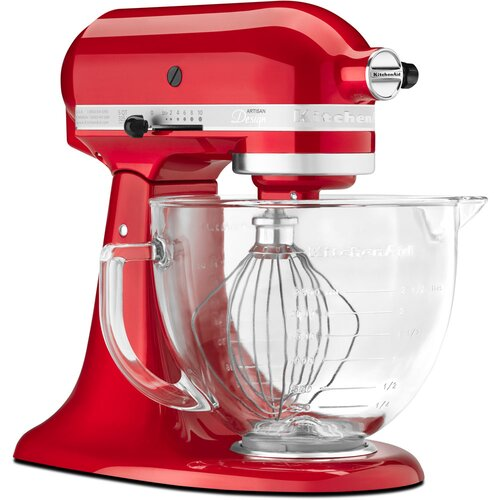 KitchenAid Artisan Design Series 5 Qt. Stand Mixer with Glass Bowl