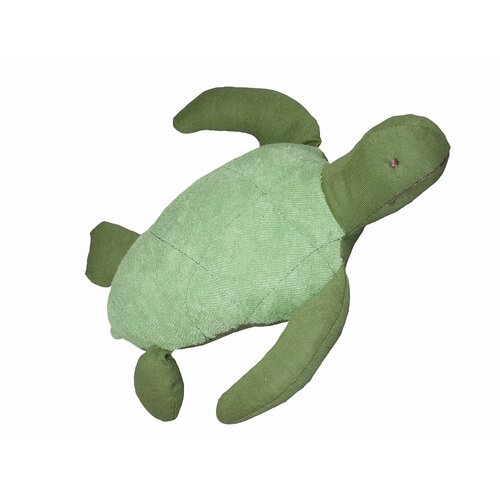 Endangered Species Sea Turtle Toy in Green