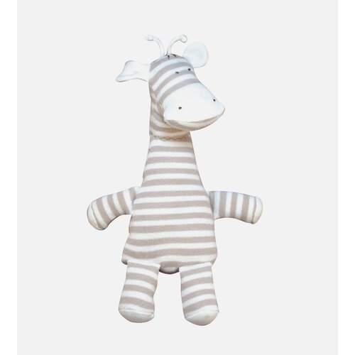 Nature's Nursery Striped Giraffe Toy