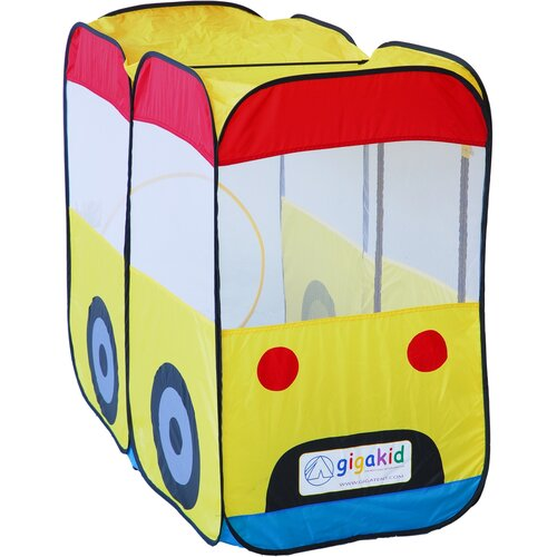 GigaTent My First School Bus Kids Play Tent