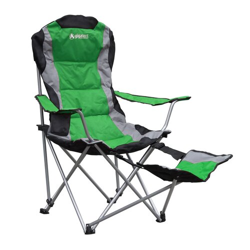 GigaTent Folding Camping Chair with Footrest & Reviews