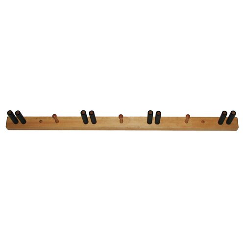 Del Sol Racks Ski Pine Storage 4 Space Vertical