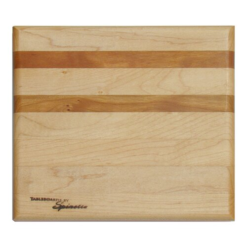Tableboards Small Maple Utility Cutting Board with Cherry Accent