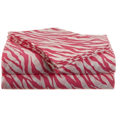 P/W Zebra Sheet Set