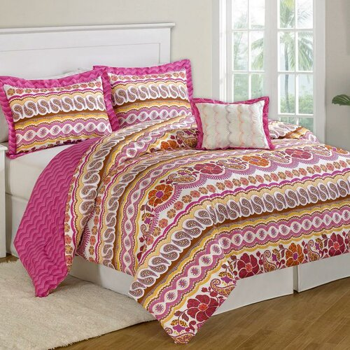 Paisley Dream 8 Piece Bed in a Bag Set