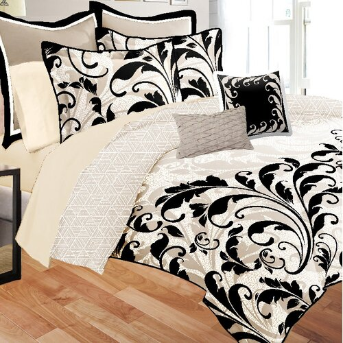 Mason Scroll 8 Piece Bed in a Bag Set