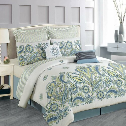 Fancy Bedroom Chairs Modern Zen Bedroom Rustic Chic Bedroom Decor Exclusive Bedroom Sets: Paisley Shams Bedding