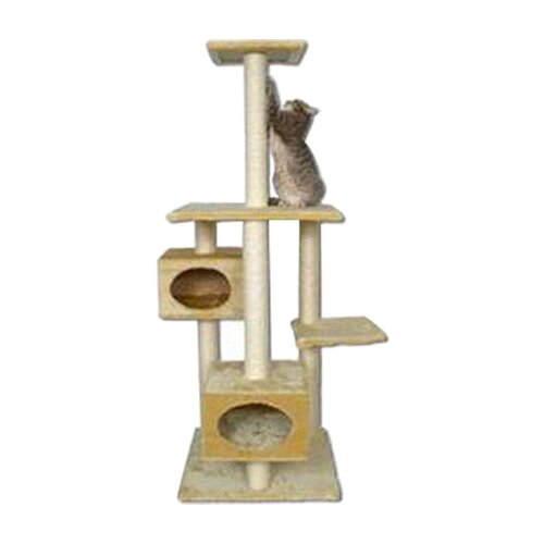 "Kitty Mansions 66"" Manhattan Cat Tree"
