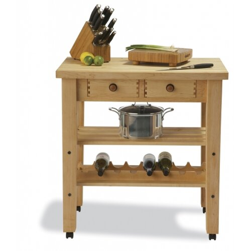 Arts and Crafts Kitchen Cart