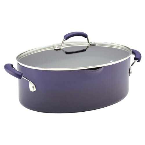 Porcelain II Nonstick 8-qt. Stock Pot with Lid