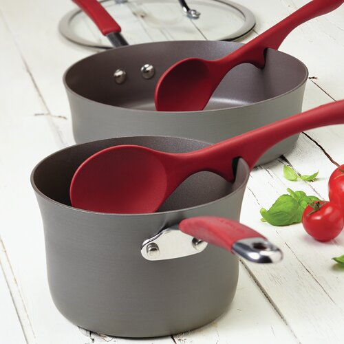Rachael Ray Cucina 2 Piece Lazy Solid Spoon Set