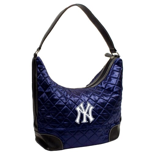 Little Earth MLB Quilted Hobo Bag