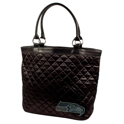 Little Earth NFL Sport Noir Quilted Tote Bag