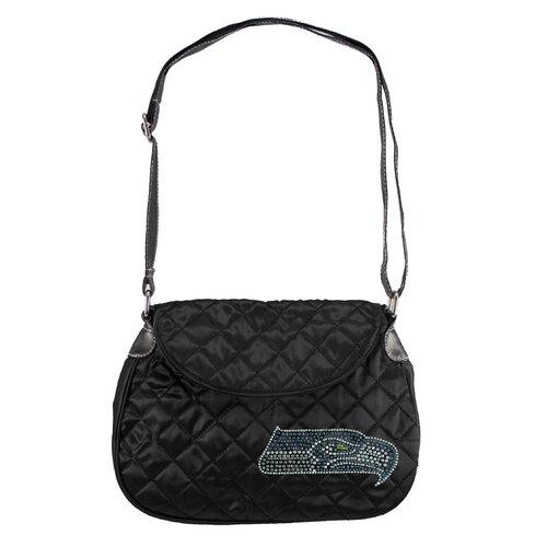 Little Earth NFL Sport Noir Quilted Shoulder Bag
